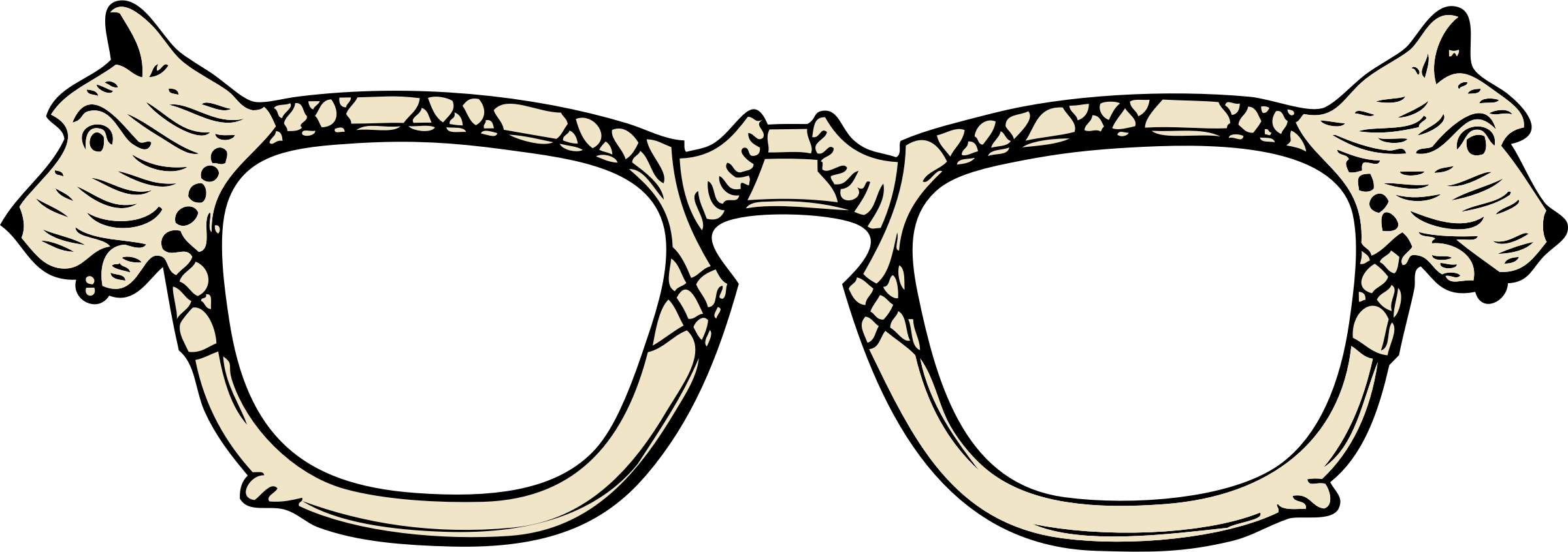 Scottie dog icons png. Clipart glasses science