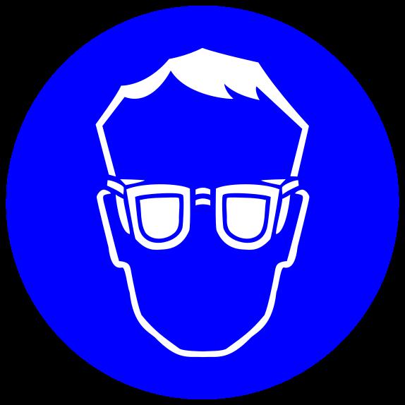Lab clipart lab safety. Glasses symbol science laboratory