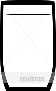 Clipart glasses simple. Tall glass panda free