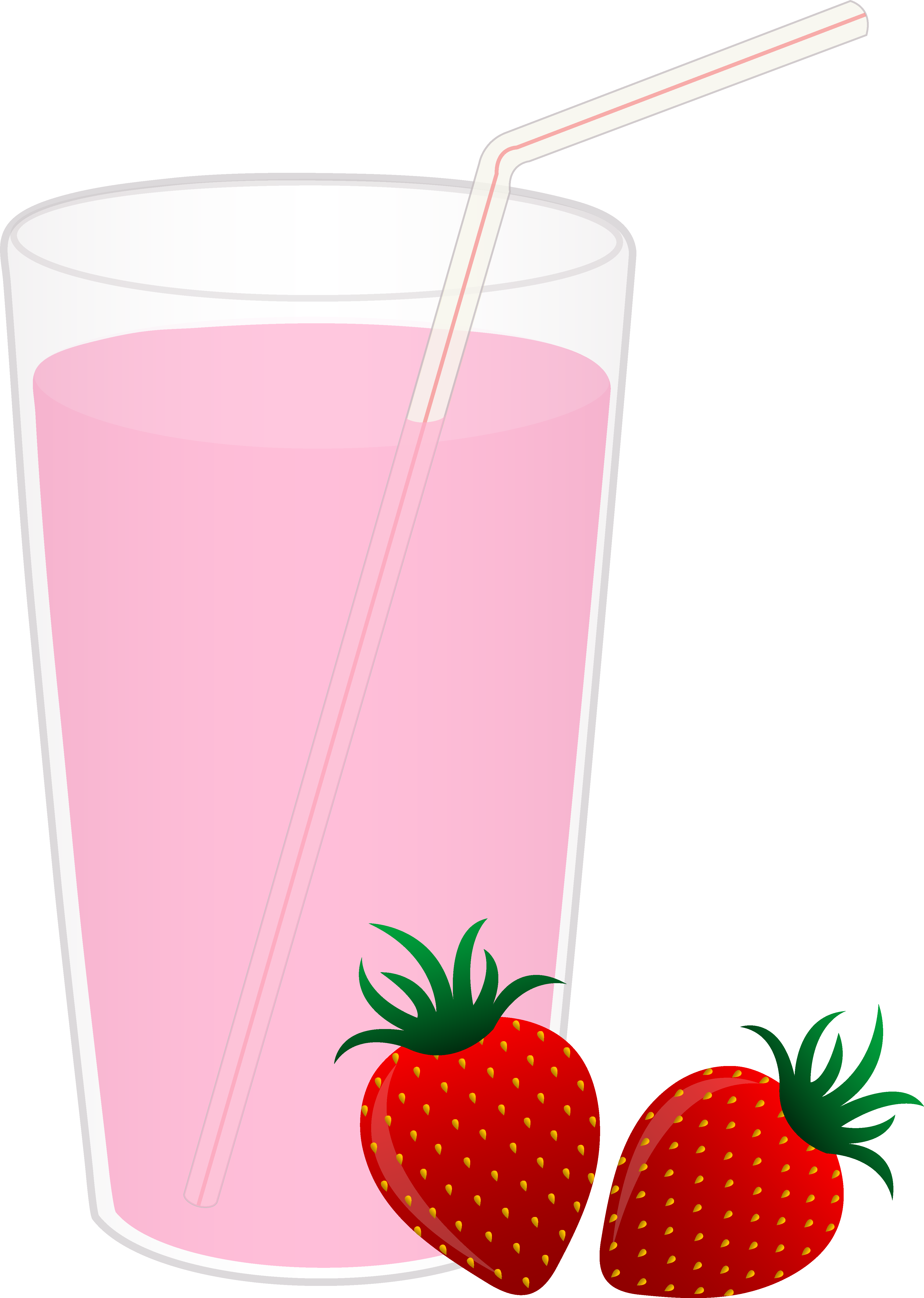 collection of glass. Milk clipart simple