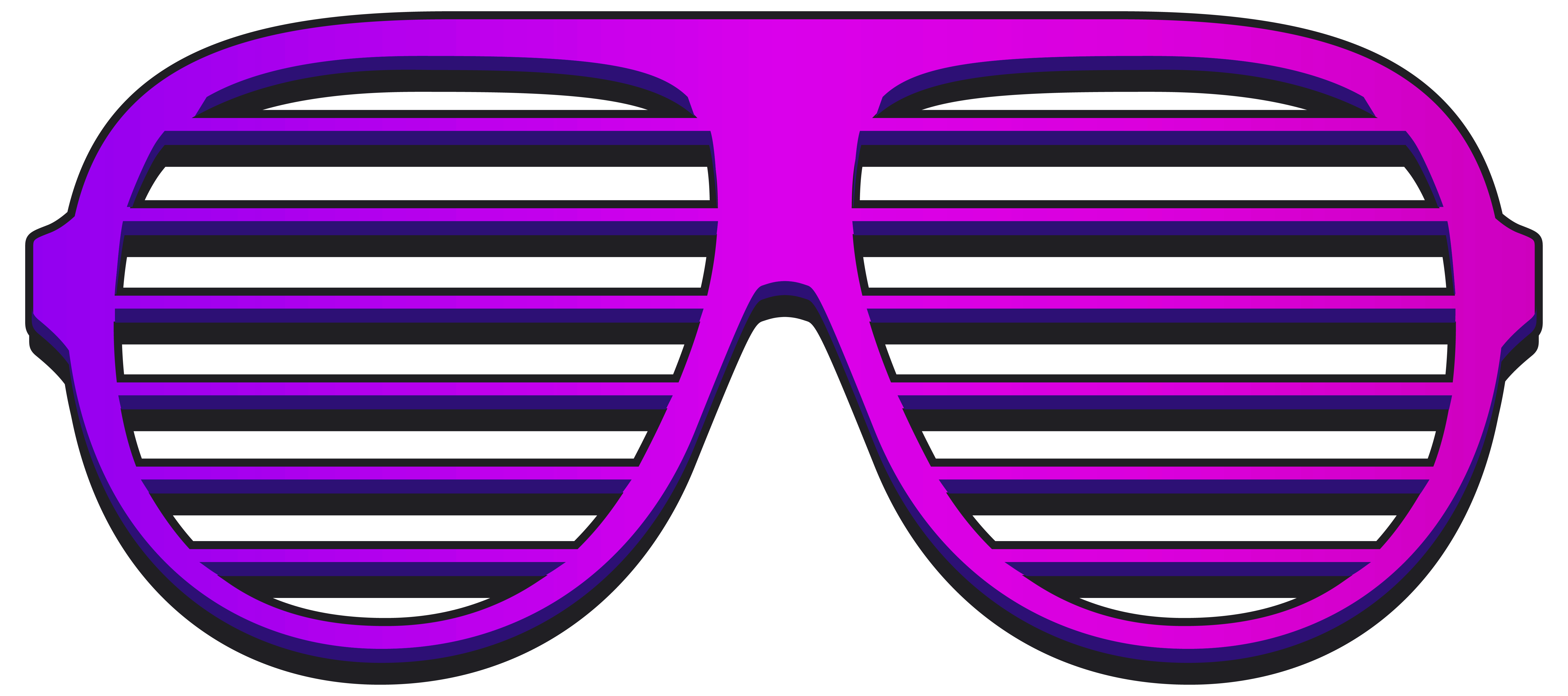 Sunglasses clipart purple. Cool shutter shades png