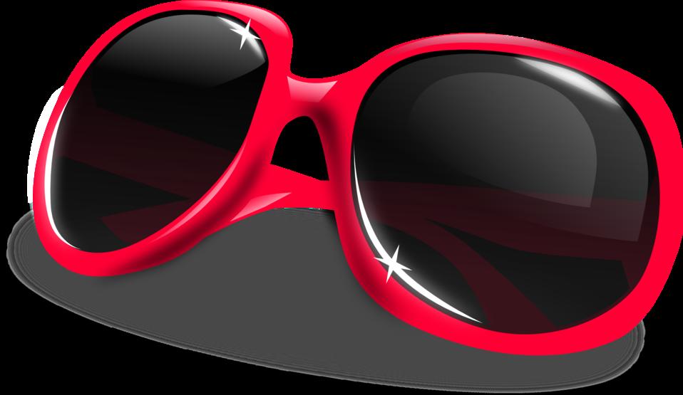 Sunglasses clipart small. Public domain clip art