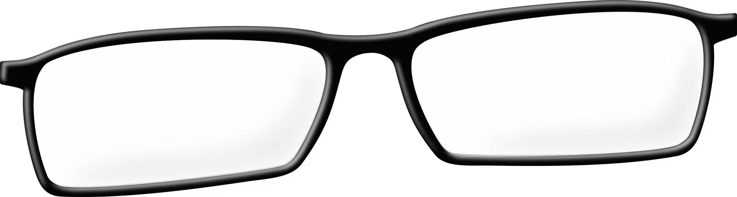 Glasses clipart brown.
