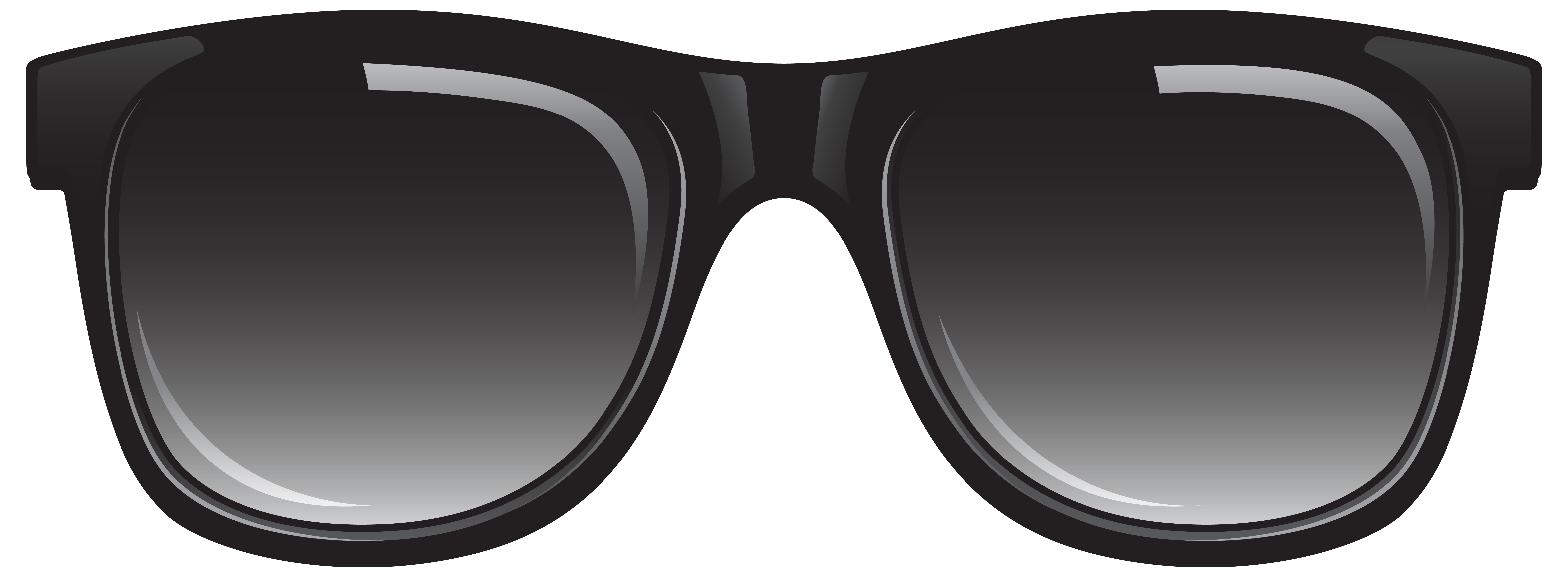 collection of goggles. Eyeglasses clipart shades