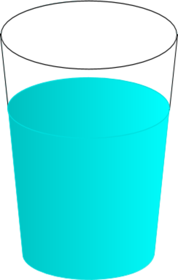 Cups clipart glass cup. Glasses water pencil and