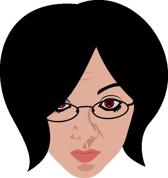 Eyeglasses woman glass