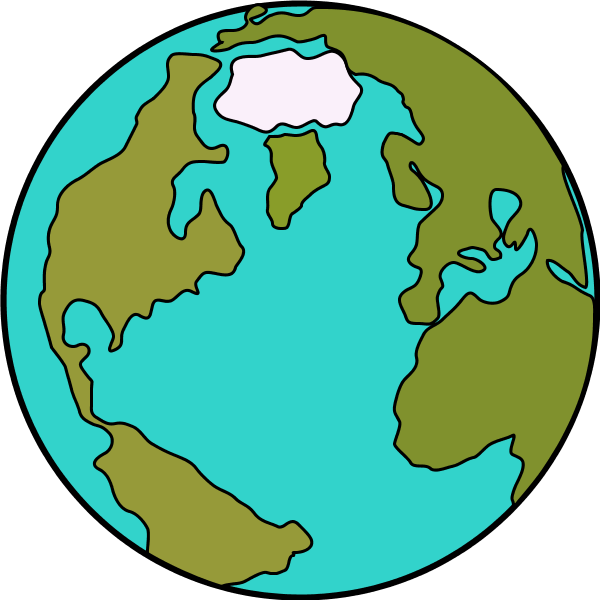 Clipart world vector. Globe cartoon free download