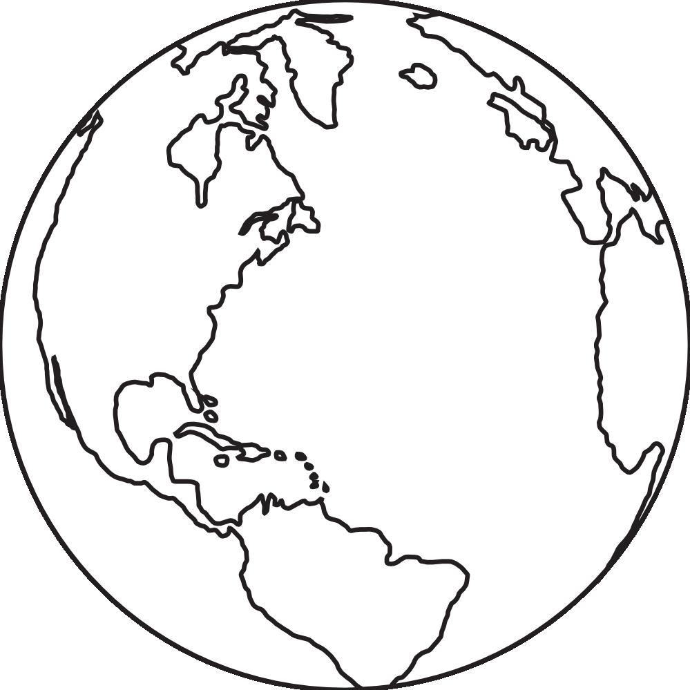Globe clipart black and white. Panda free images globeclipartblackandwhite