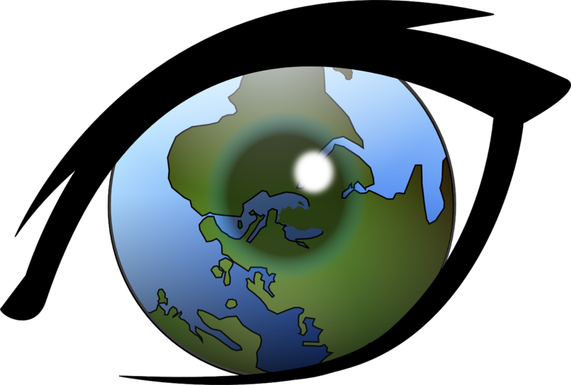 The belief system of. Globe clipart broken