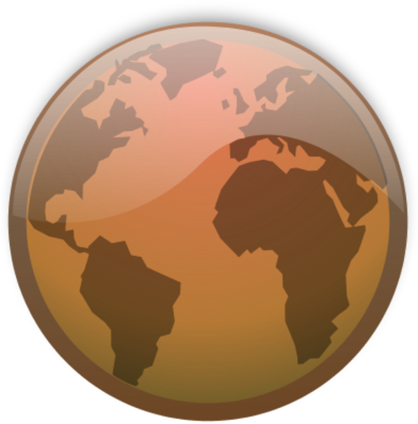 Image kokcok png animal. Globe clipart brown