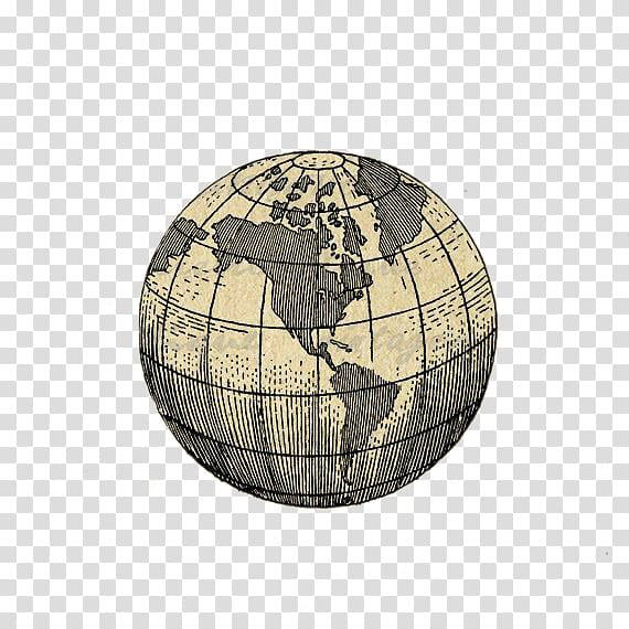 Globe clipart brown. Old map earth tattoo