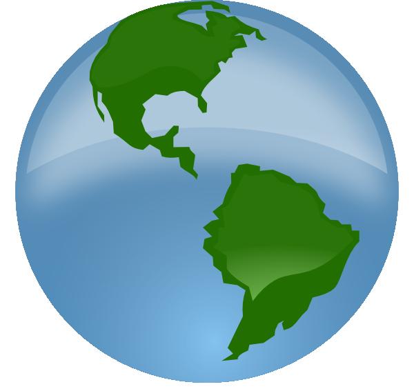 Globe clipart animation. Clip art at clker