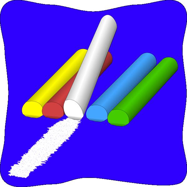 Chalk panda free images. Eraser clipart fun