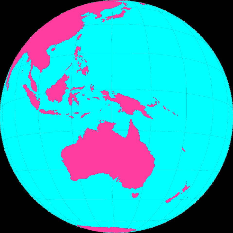 Maps world free stock. Clipart globe colourful