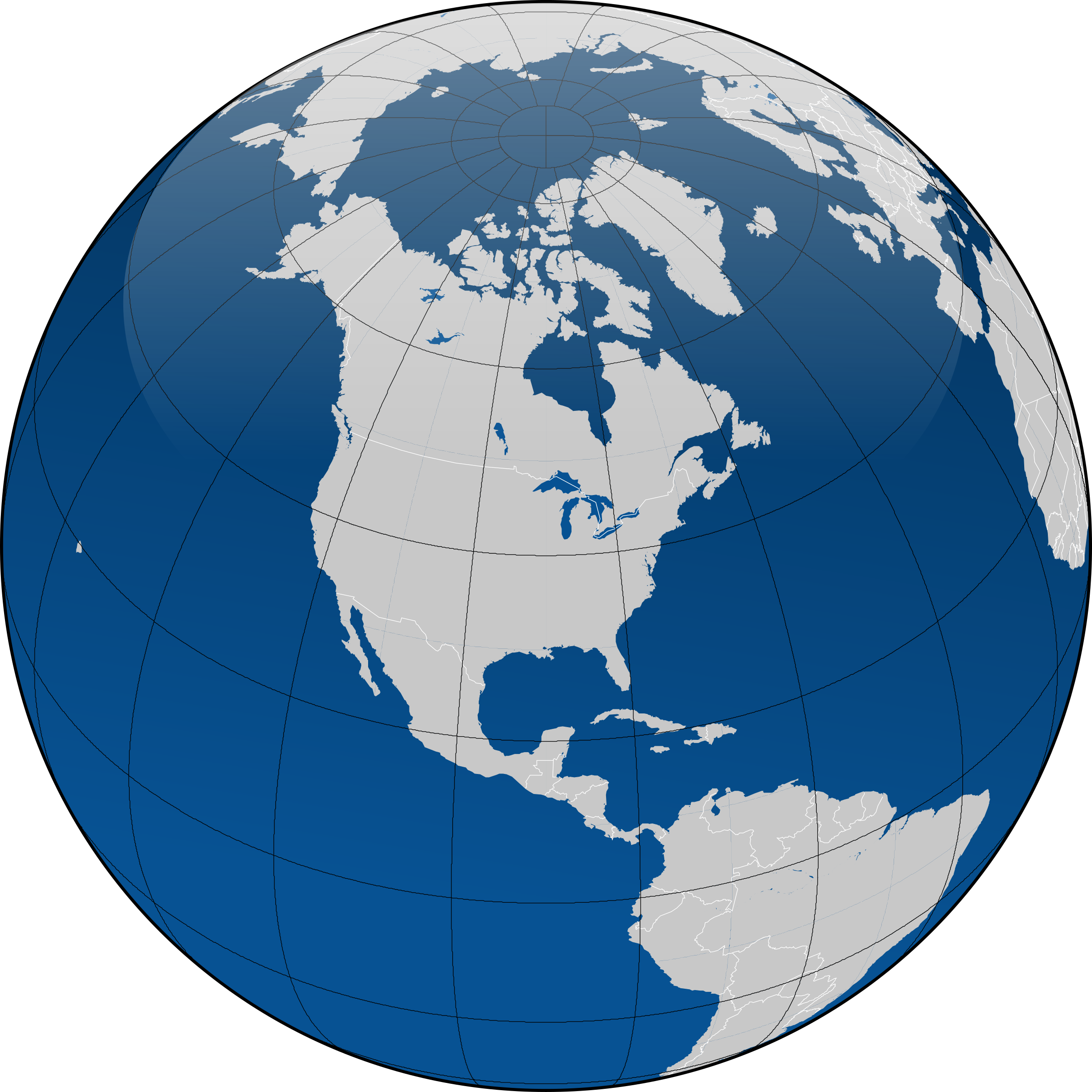 With borders big image. Globe clipart computer