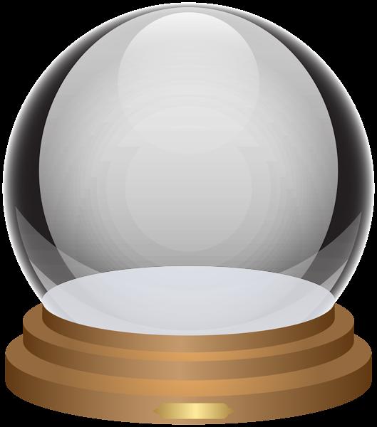Globe clipart empty. Snowglobe decorative transparent image