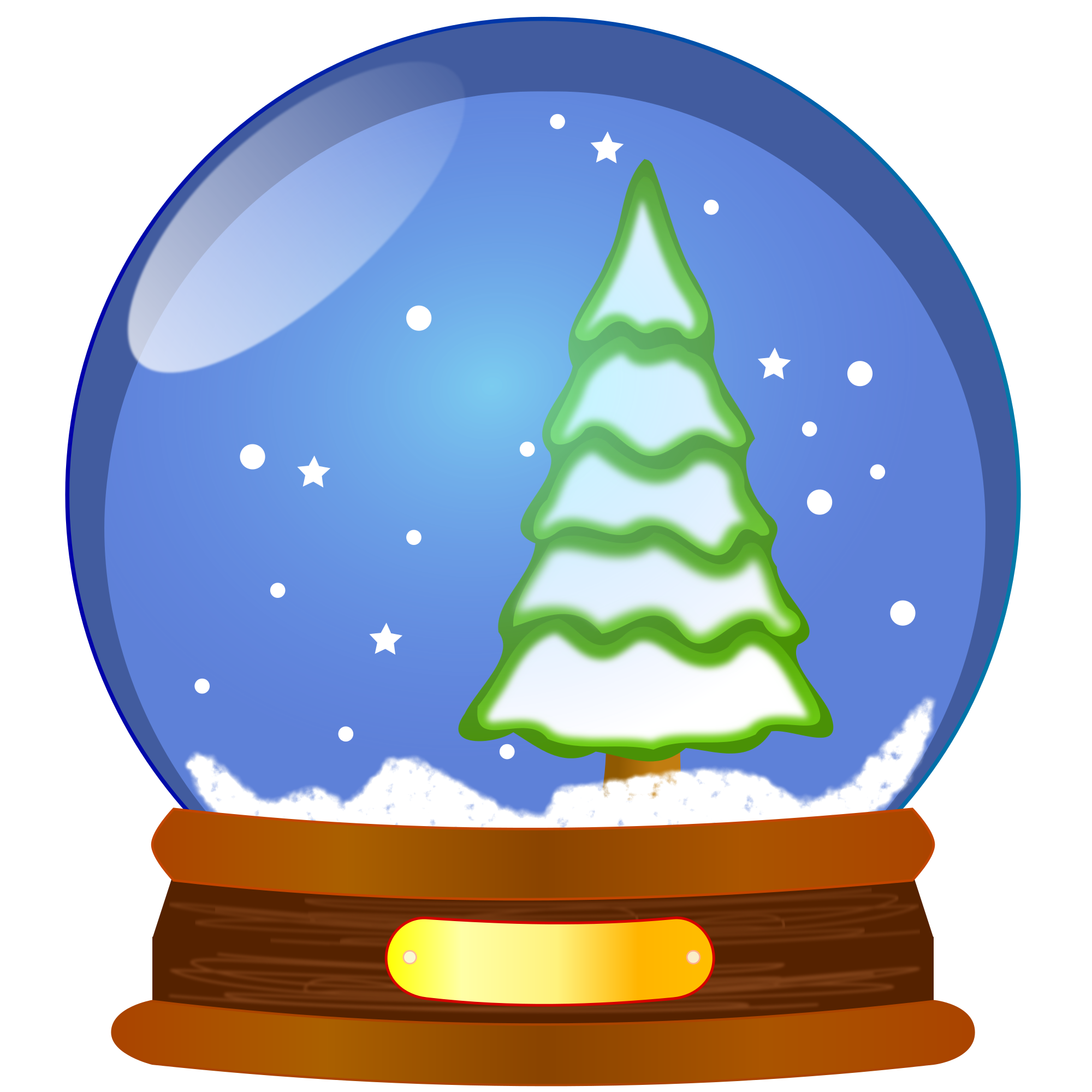 File snow globe svg. Decoration clipart january