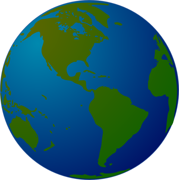 Flying clipart globe. World map clip art