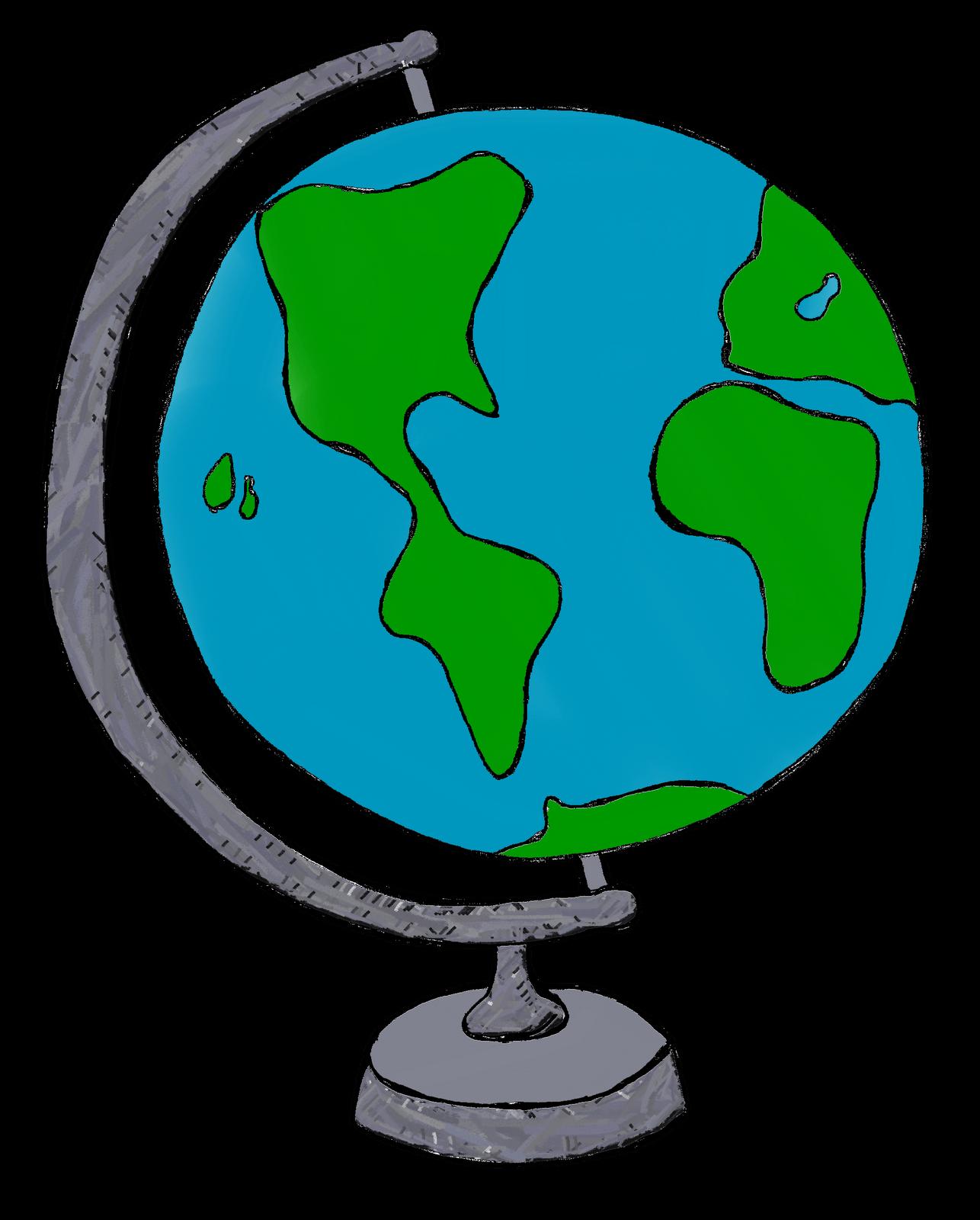 Clipart globe gambar. Cliparts zone