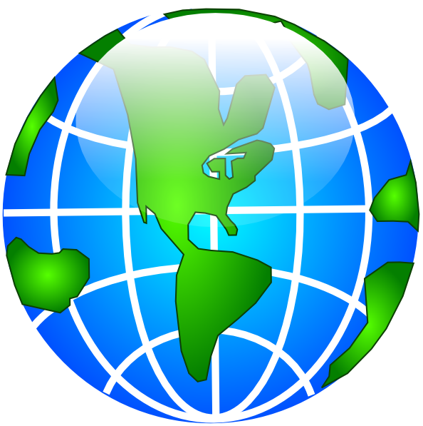 Clip art at clker. Clipart globe gambar