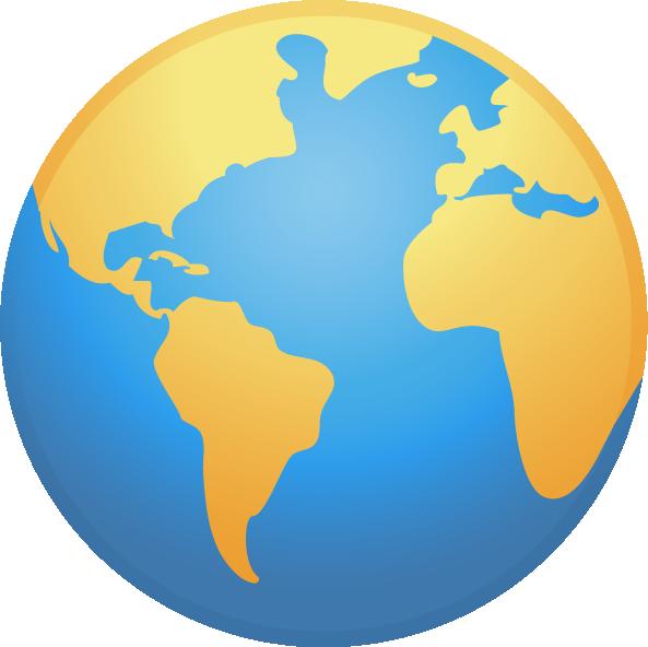 Clipart globe globe world. Map clip art earth