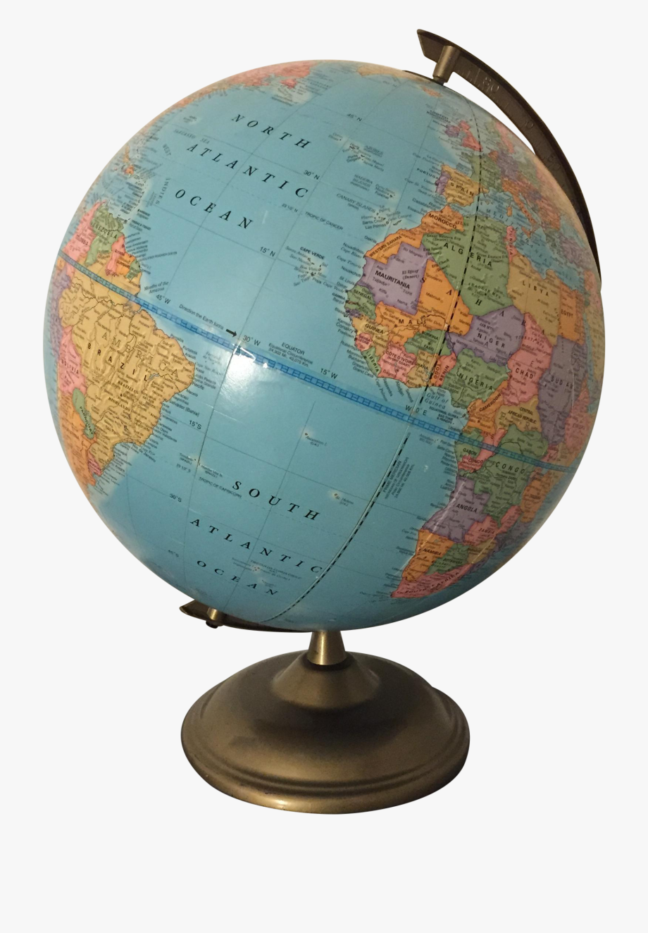 Geography clipart natural world. Globe vintage png