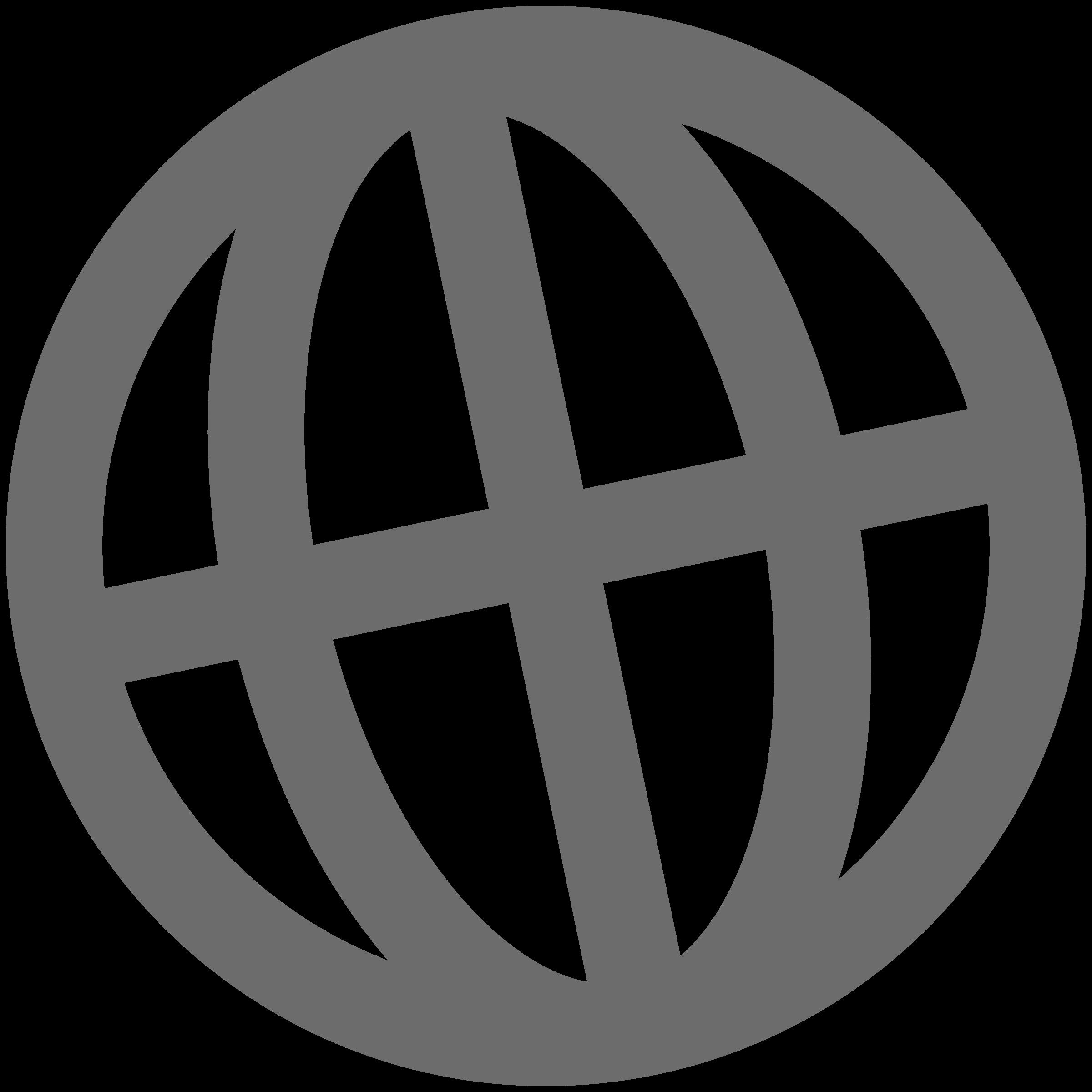 Electronics clipart internet symbol. Icon globe grey big