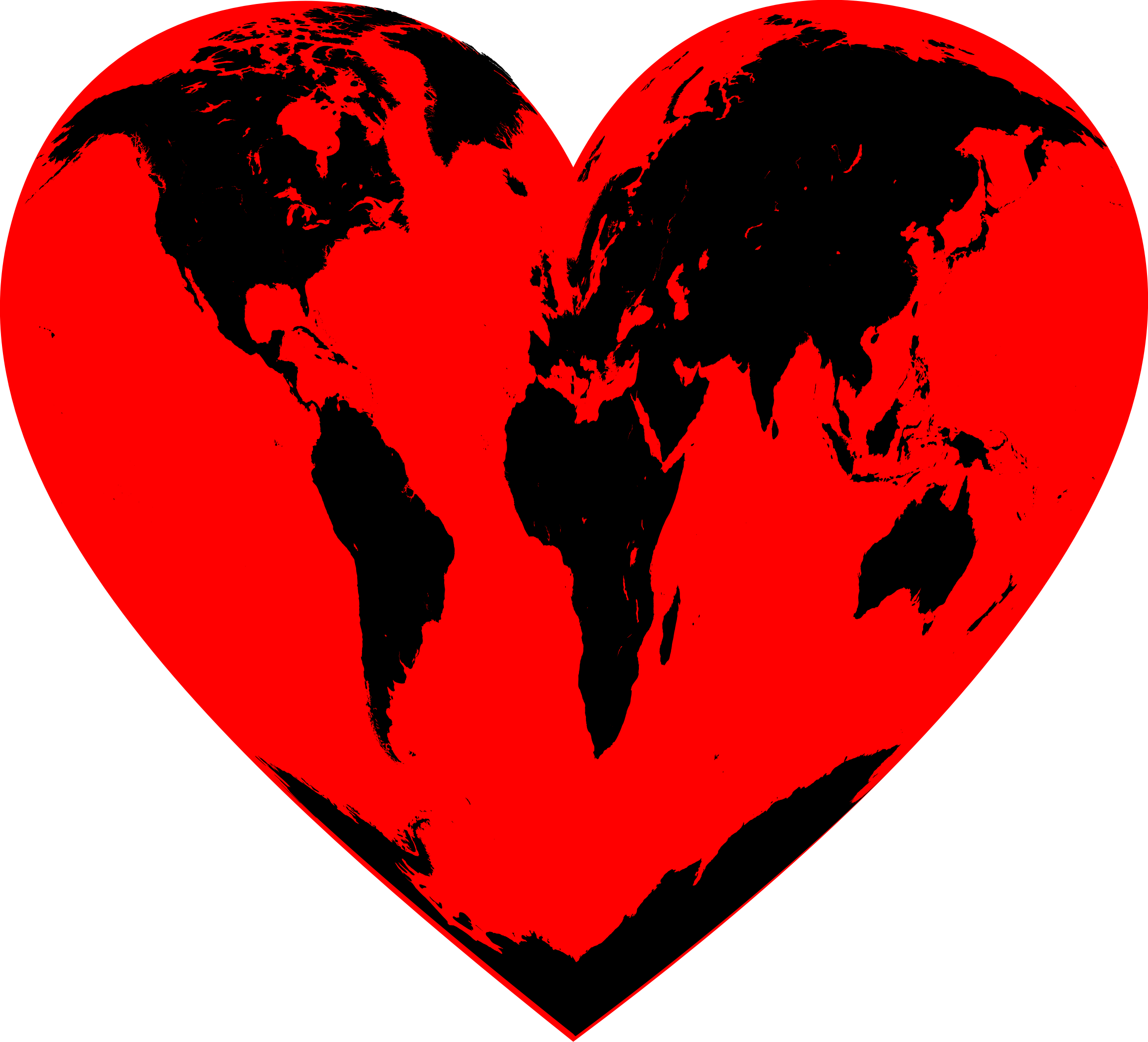 Heart big image png. Planet clipart red planet