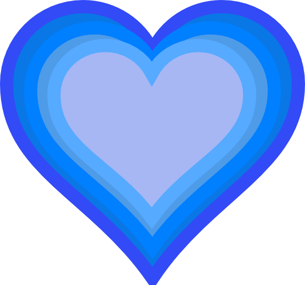 Heart png image trans. Heartbeat clipart blue
