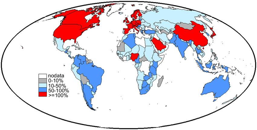 World map of the. Globe clipart inhabitant