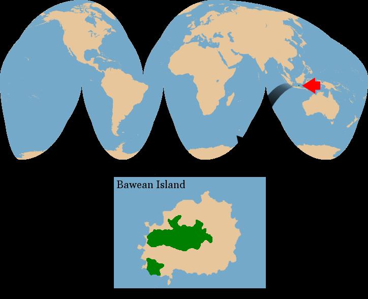Globe clipart inhabitant. Bawean deer axis kuhlii