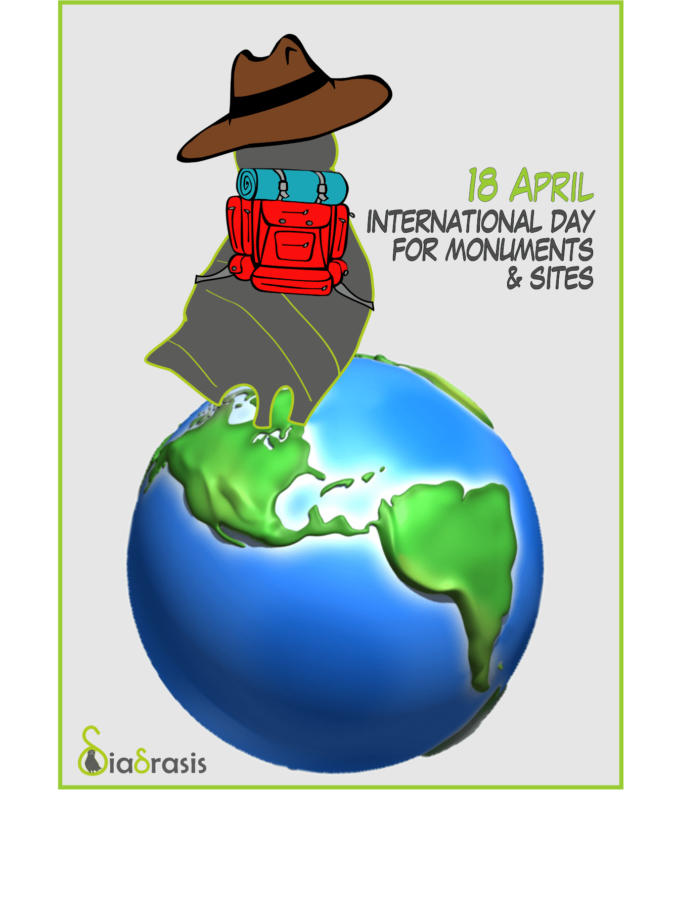 World heritage book of. Country clipart international day