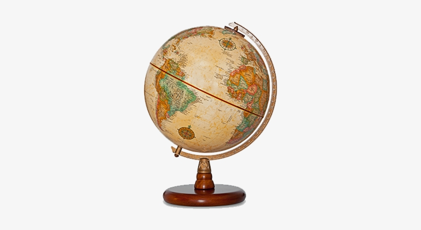 Directions to janke bookstore. Clipart globe old fashioned