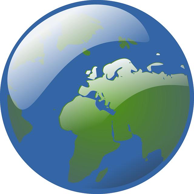 Puzzle clipart earth. Free cartoon world globe