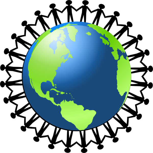 Obscure holidays in november. Clipart globe person