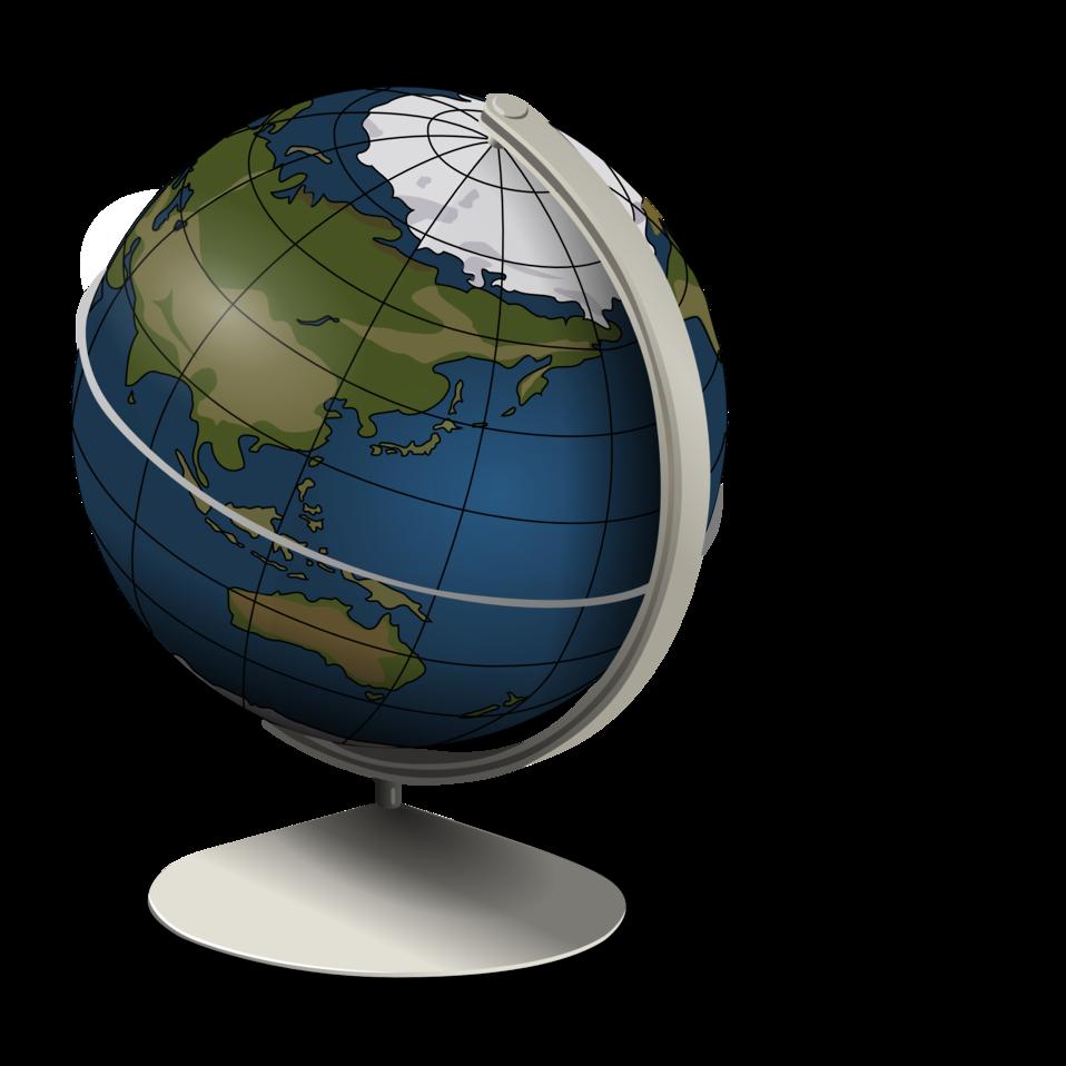 Planet clipart animated globe. Public domain clip art