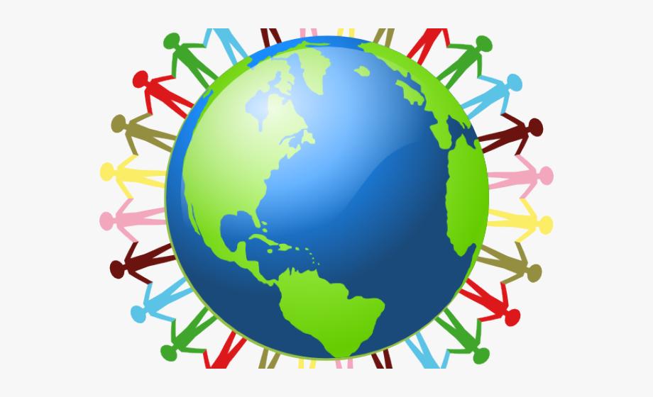 Clipart globe person. Earth clip art free