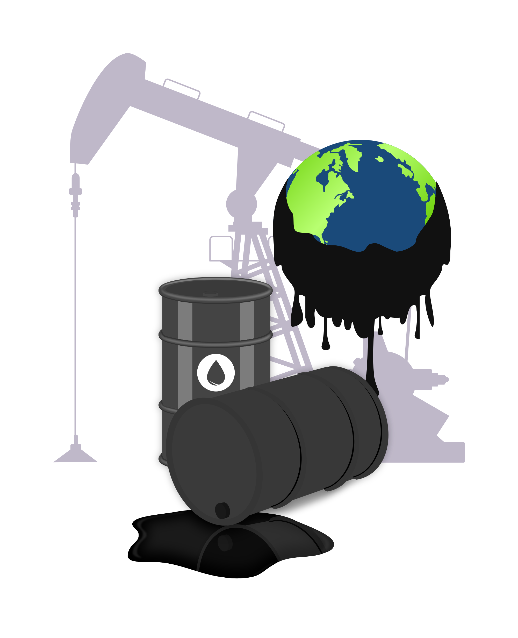 File oil pollution svg. Globe clipart polluted
