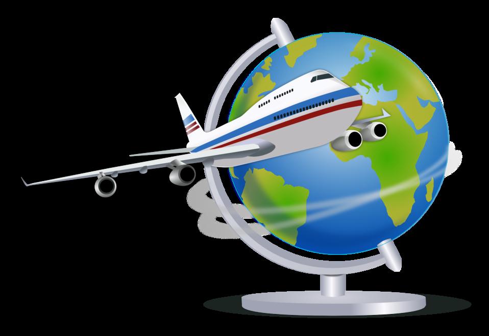 Clipart plane voyage. Public domain clip art
