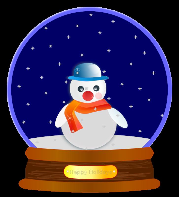 Snowglobe snow globe science. Mirror clipart animated
