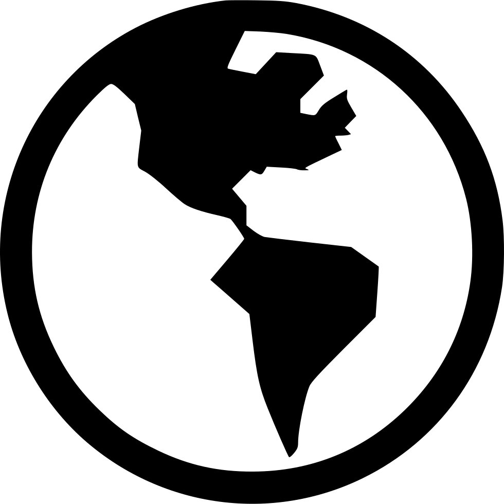 World globe at getdrawings. Planet clipart silhouette