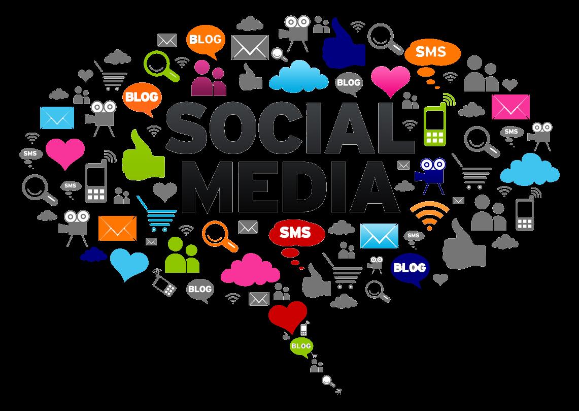 Marketing clipart business model. Social media the key