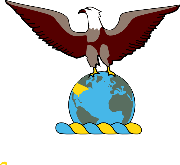 Eagle standing