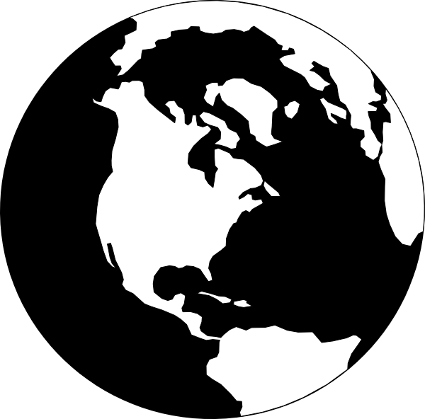Gallery for the world. Planeten clipart silhouette