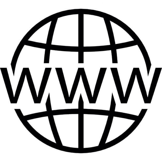 Website clipart line art. Free web symbol cliparts