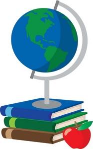 Clipart globe teacher. History panda free images