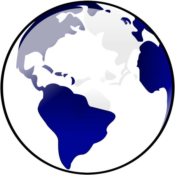 Wikiclipart. Globe clipart planet earth