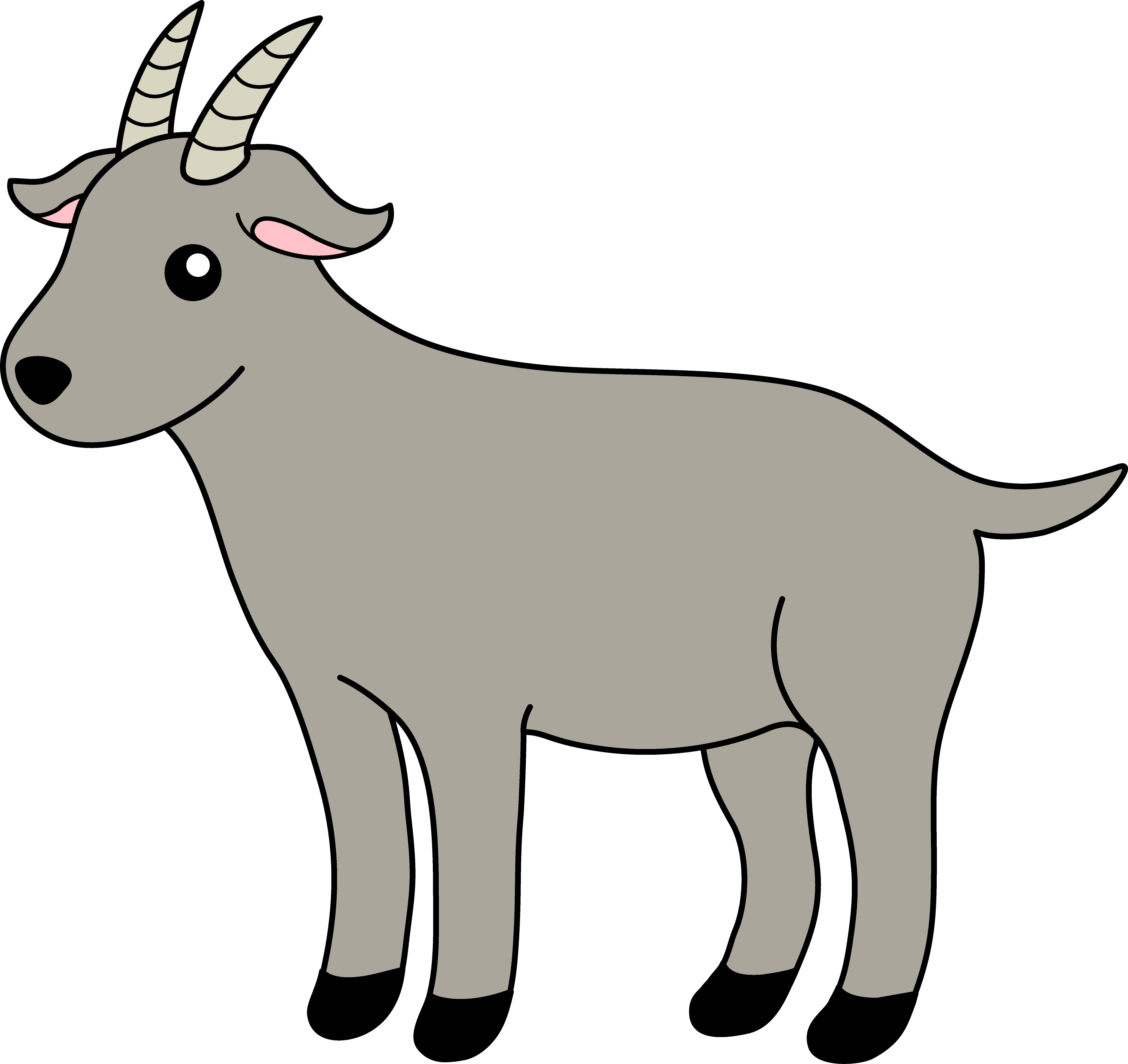 Female clipart goat. Clip art free download