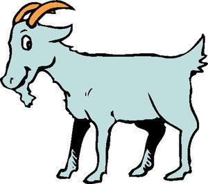Clipart goat. Goats clip art picgifs