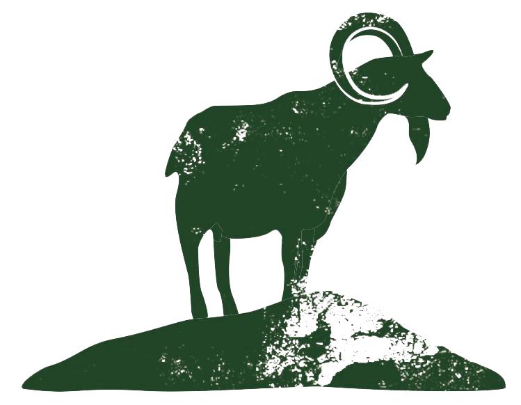 Pastured animals meadowstone farm. Clipart goat alpine goat